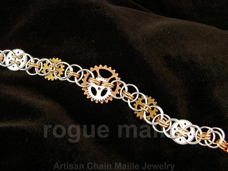Embedded Gears Bracelet