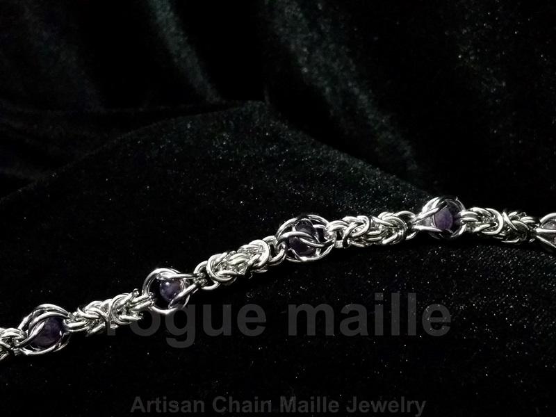035-Byzantine Gemstone Bracelet