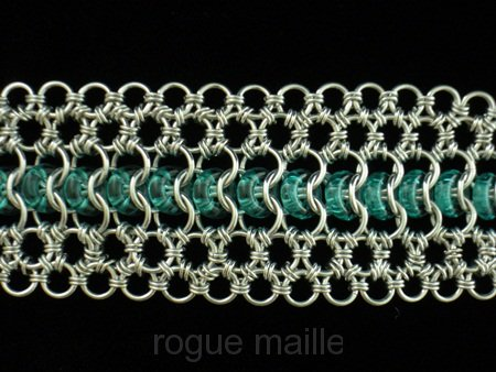 140-Glass Lace Bracelet