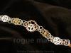 040-Embedded Gears Bracelet