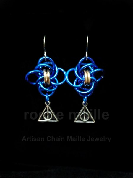 0181-Ravenclaw Earrings