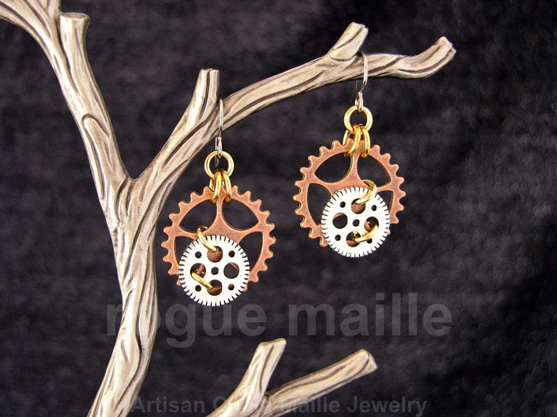 016-Small Gears Earrings