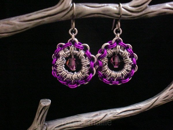 028-Full Cirle Earrings