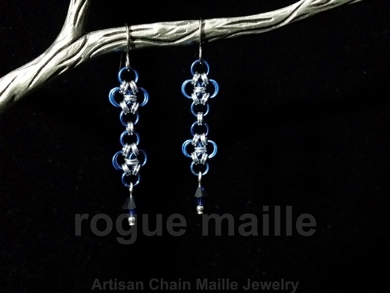 025-Japanese Lace Earrings
