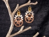 020-Stacked Gears Earrings