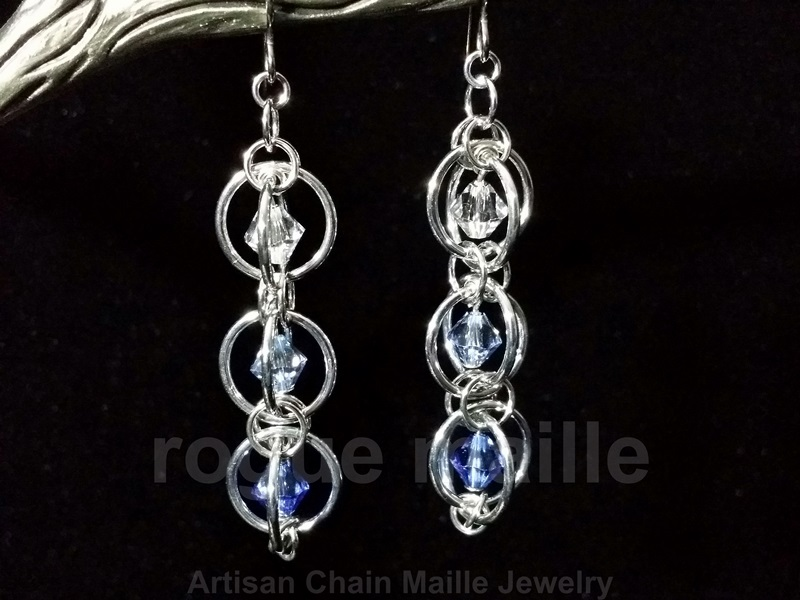 026-Triple Orbital Earrings