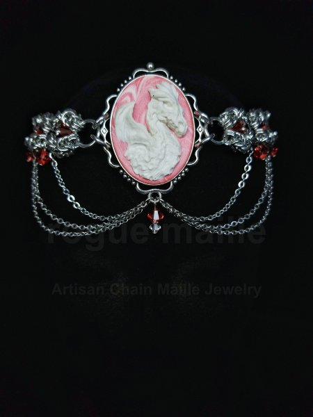 Romanov Dragon Cameo Headdress