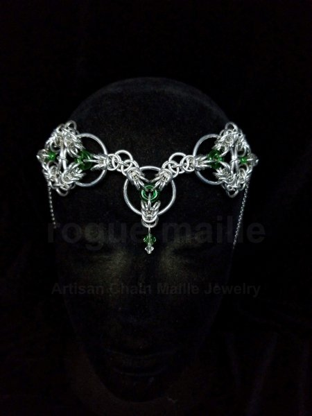 075-Celtic Triskele Headdress
