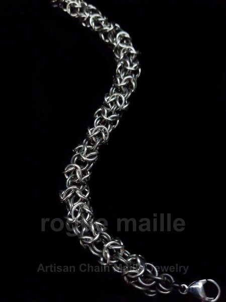 055-Stainless Steel Turkish Round Bracelet