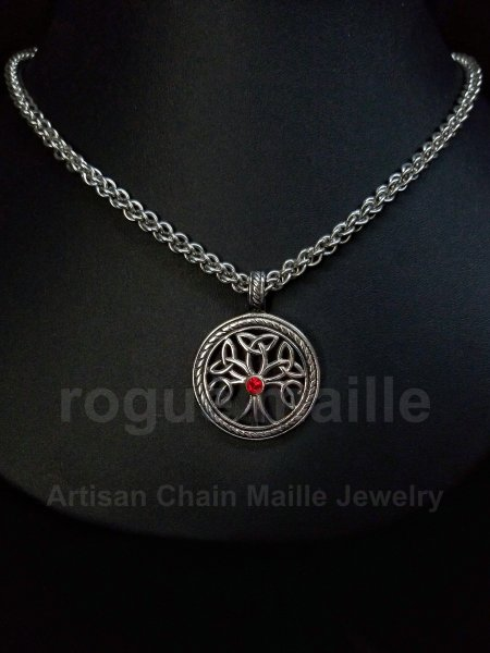 5070-Stainless Steel Tree of Life Pendant