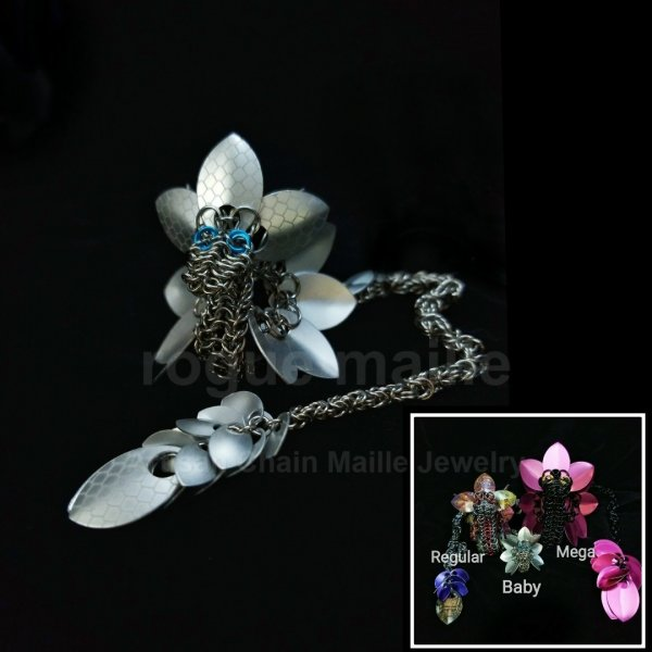 150-Frost and Stainless Steel Baby Dragon