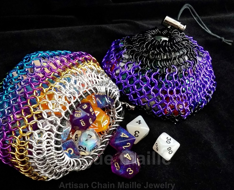 060-Large Dice Bags/Coin Purses
