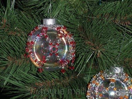 035-Glass Christmas Ornaments