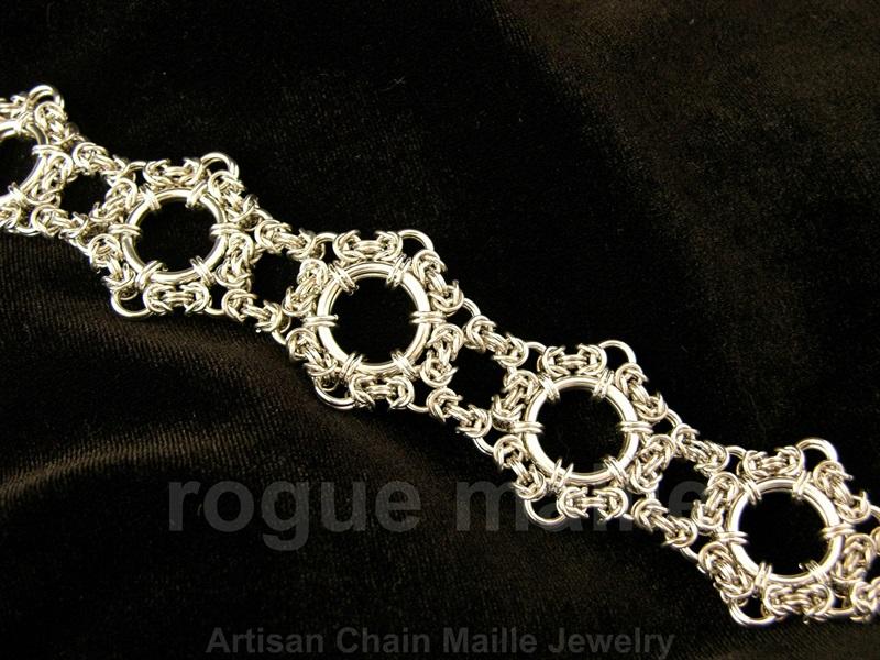 080-Byzantine Lace Bracelet