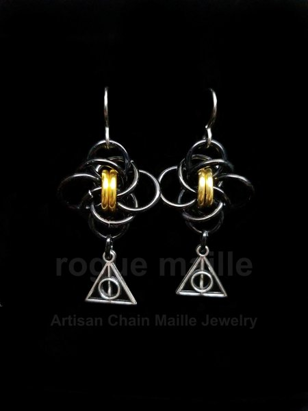 0181-Hufflepuff Earrings