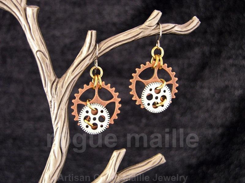 016-Small Gears Earrings