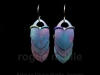 030-Titanium Watercolor Scale Earrings