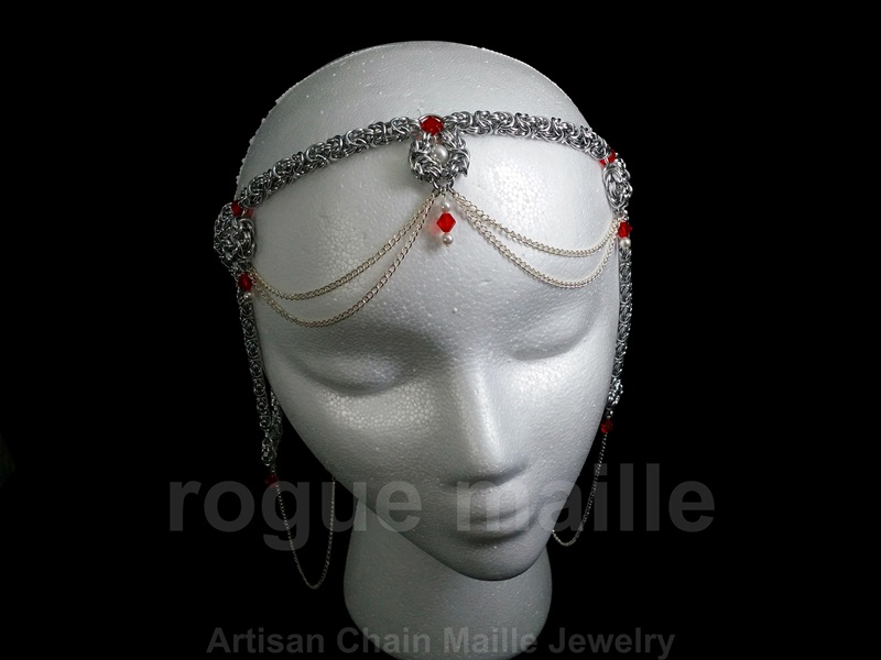 Byzantine Drape Headdress 2