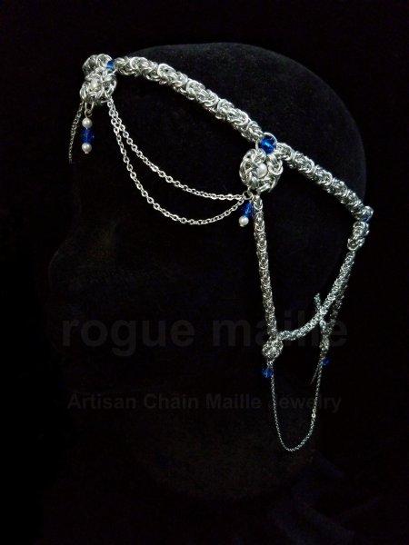 190-Byzantine Drape Headdress