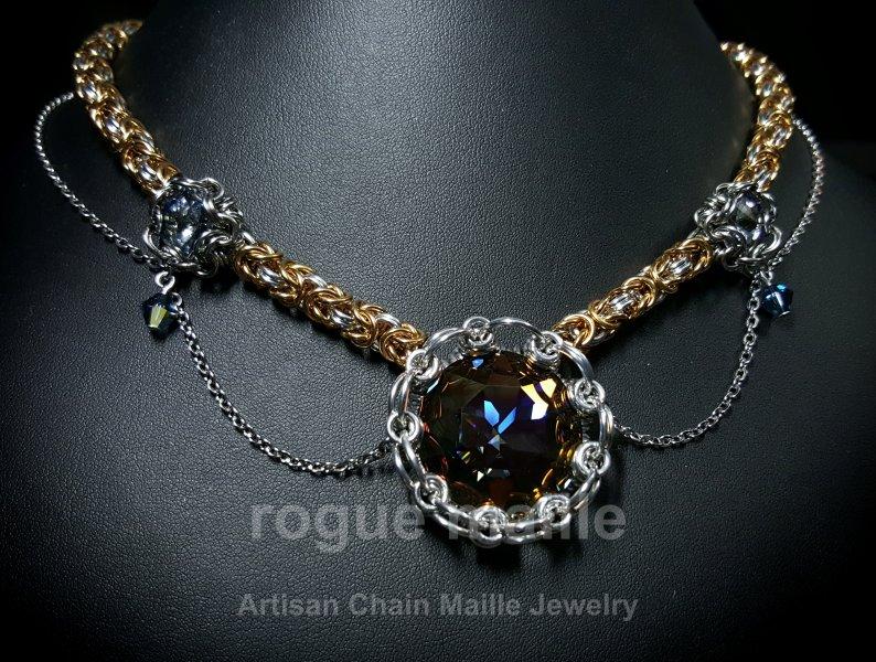036-Victorian Star Necklace
