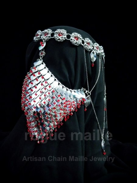 071-Veiled Headdress