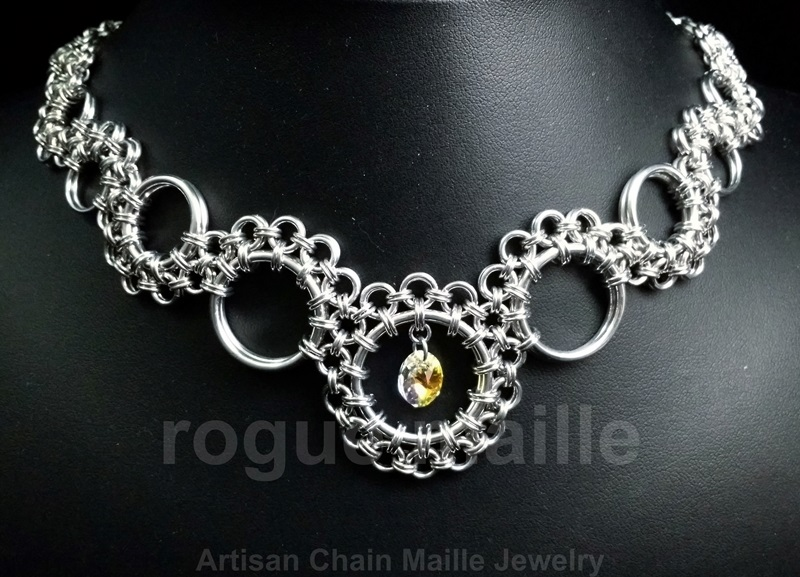 033-Scrollwork Necklace