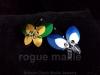 008-Scale Butterfly Barrette
