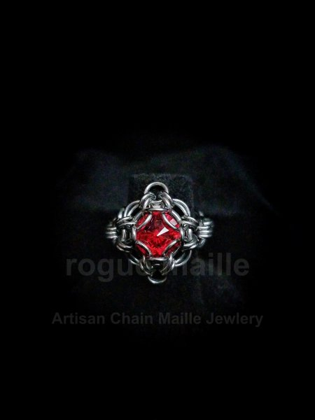 038-Light Siam Rivoli Ring
