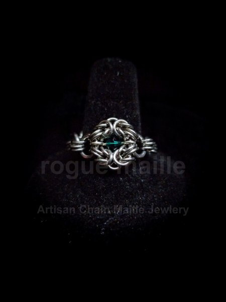 030-Romanov Emerald Ring
