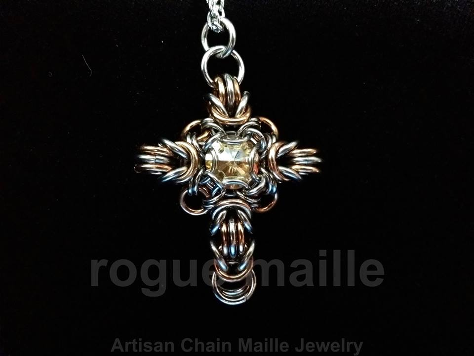 006-Swarovski Rivoli Cross